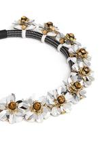 Embellished cord necklace