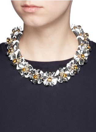 Figure View - Click To Enlarge - J.CREW - Embellished cord necklace