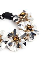 Embellished cord bracelet