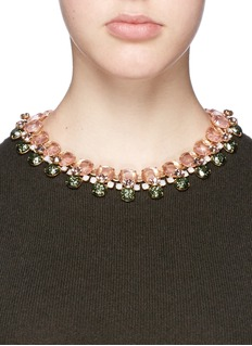 J.CREW Vibrant crystal necklace