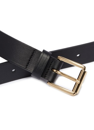 Detail View - Click To Enlarge - Maison Boinet - Cowhide leather belt