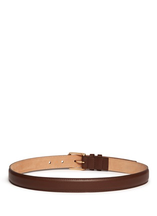 Back View - Click To Enlarge - Maison Boinet - Calfskin leather belt