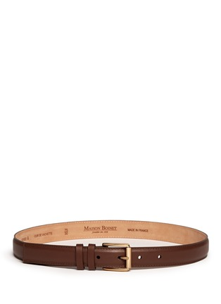 Main View - Click To Enlarge - Maison Boinet - Calfskin leather belt