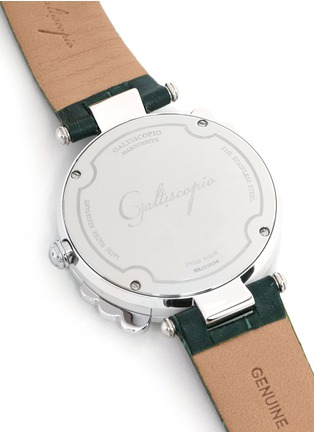 Detail View - Click To Enlarge - Galtiscopio - Marguerite crystal dial watch