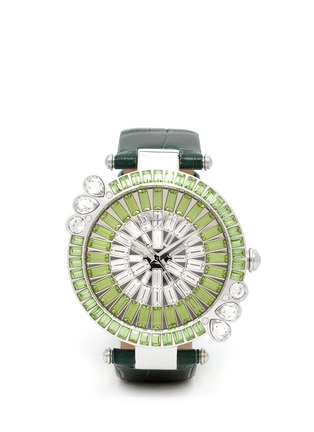 Main View - Click To Enlarge - Galtiscopio - Marguerite crystal dial watch