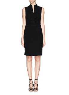 TORY BURCH 'Tatum' ruffle cady crepe dress