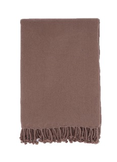 JANAVIWoven cashmere blanket