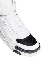 'Tyson' calf leather sneakers