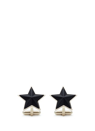 Givenchy - Matte star metal cufflinks