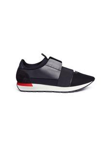 BALENCIAGARACE RUNNER拼接设计运动鞋