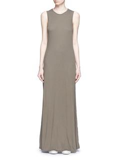 James PerseLayered cotton maxi dress