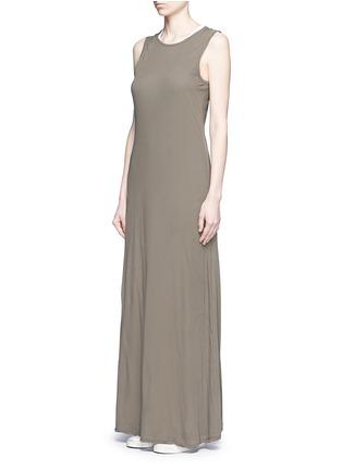 模特儿示范图 - 点击放大 - JAMES PERSE - 纯棉无袖连衣裙