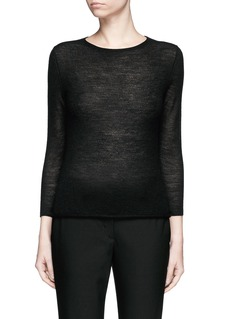HELMUT LANG 'Slim Tee' cashmere knit sweater
