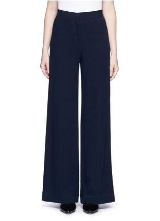 Main View - Click To Enlarge - Helmut Lang - Cotton wide leg pants