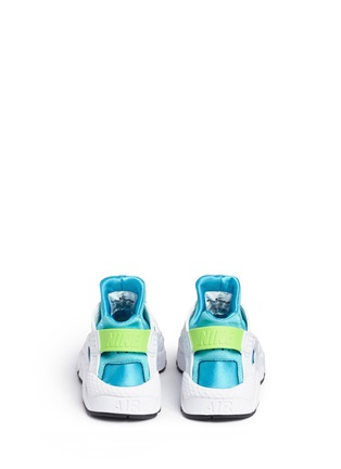 Back View - Click To Enlarge - Nike - 'Air Huarache Run' colourblock neoprene sneakers