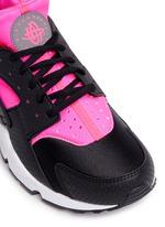 'Air Huarache Run' colourblock neoprene sneakers