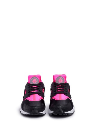 Front View - Click To Enlarge - Nike - 'Air Huarache Run' colourblock neoprene sneakers