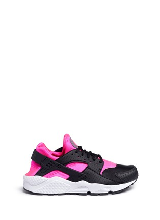 Main View - Click To Enlarge - Nike - 'Air Huarache Run' colourblock neoprene sneakers