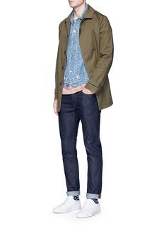 TopmanTeflon® twill Mackintosh coat