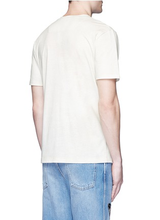 Back View - Click To Enlarge - Gucci - Paradise bird print cotton T-shirt