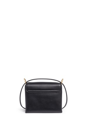Alexander McQueen - Twin skull leather satchel