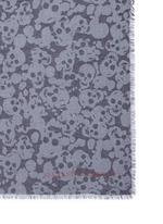 Camouflage skull modal-silk scarf