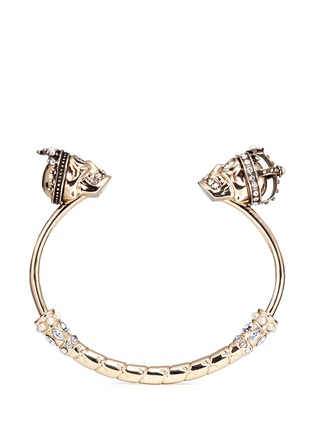 Alexander McQueen - 'King and Queen' skull cuff
