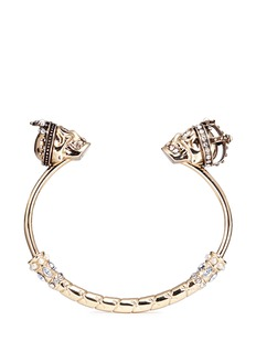 Alexander McQueen 'King and Queen' skull cuff
