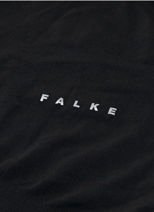 Detail View - Click To Enlarge - FALKE - 'Athletic' long sleeve running shirt