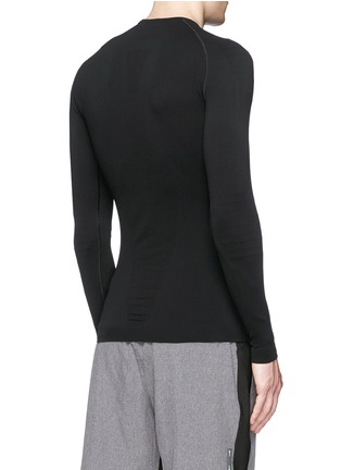 Back View - Click To Enlarge - FALKE - 'Athletic' long sleeve running shirt