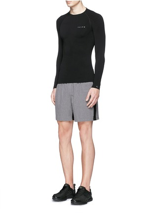 Figure View - Click To Enlarge - FALKE - 'Athletic' long sleeve running shirt