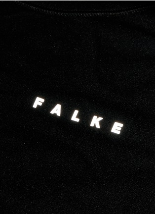 Detail View - Click To Enlarge - Falke Sports - 'Athletic' short sleeve running shirt