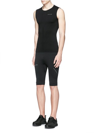 Figure View - Click To Enlarge - Falke Sports - 'Athletic' running tank top
