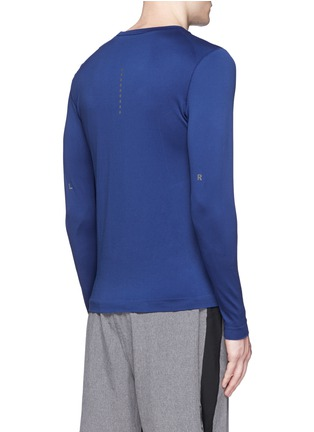 Back View - Click To Enlarge - Falke Sports - 'Competition' long sleeve running shirt