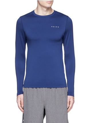 Main View - Click To Enlarge - Falke Sports - 'Competition' long sleeve running shirt