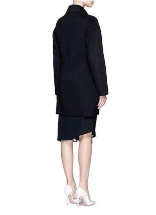 VICTORIA BECKHAM-单色羊绒大衣