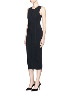 Victoria Beckham 'Elite' piped trim knit dress