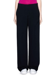 Victoria BeckhamWide leg cady crepe pants