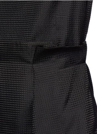 Detail View - Click To Enlarge - VICTORIA, VICTORIA BECKHAM - Paperbag waist embroidered gauze dress
