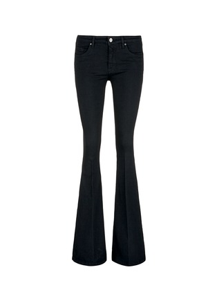 Main View - Click To Enlarge - VICTORIA, VICTORIA BECKHAM - Cotton blend flared jeans
