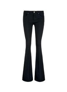 VICTORIA, VICTORIA BECKHAMCotton blend flare jeans