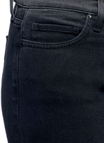 'Ankle Slim' dipped fade hem jeans