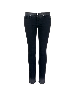 Main View - Click To Enlarge - VICTORIA, VICTORIA BECKHAM - 'Ankle Slim' dipped fade hem jeans