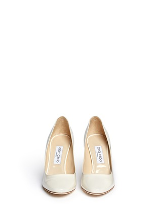 Front View - Click To Enlarge - Jimmy Choo - 'Esme' patent leather pumps
