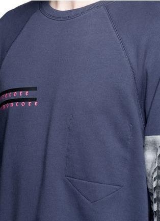 细节 - 点击放大 - DEN IM BY SIKI IM - 风景照片印花纯棉卫衣