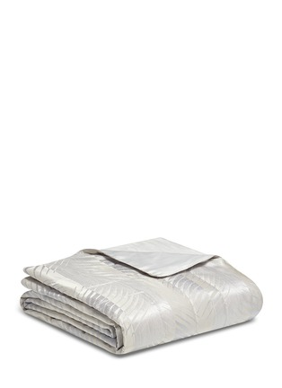 Main View - Click To Enlarge - Frette - Luxury Fern king size light quilt