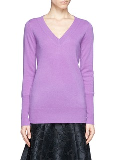 J. CREW Collection cashmere V-neck sweater