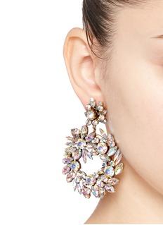 J.CREWCrystal wreath earrings