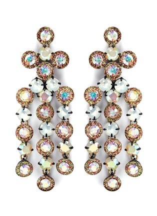 J.CREW - Cascade crystal earrings