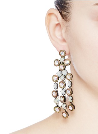 Figure View - Click To Enlarge - J.CREW - Cascade crystal earrings